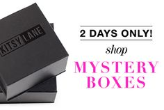 Add a little intrigue to your shopping spree with a Mystery Box! Each box contains hand-picked jewelry, including statement cuffs and sparkling earrings. All you have to do is decide on a little or a lot of bling. So, start shopping!
