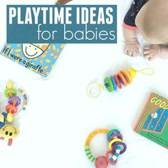 Playtime Ideas for Babies (Toddler Approved! Touch And Feel Book, Toddler Development, Baby Sensory, Baby Learning, My Little Baby, Baby Games, Baby Play, Infant Activities, Happy Kids