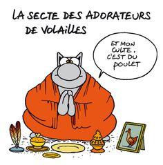 Philippe Geluck - Le Chat - Dessin | Dessins Du Mois