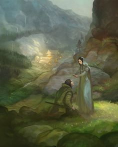 Rivendell by JonHodgson on DeviantArt