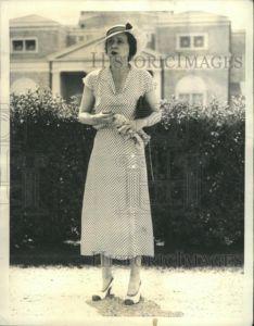 1934 Press Photo Ronald Vanderbilt Gloria Morgan Leader