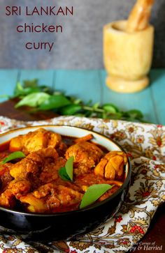 [ Sri Lankan ] Chicken Curry