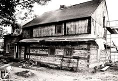 The bricks in the chimney needed to be repairs and the asphalt shingle need to be removed. History   Morgan Log House