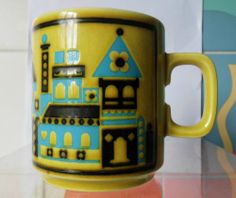 Hornsea Pottery Chateau Mug - John Clappison - 1976 -