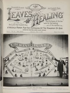 Leaves of Healing -- sent out weekly from @ 1894 - 1930