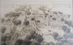 No. 55: Concordia Seminary Architectural Drawing (Clayton Campus) / Date: 1970