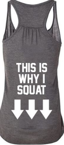 Squat tank!! - Fitness is life, fitness is BAE! <3 Tap the pin now to discover 3D Print Fitness Leggings from super hero leggings, gym leggings, fitness, leggings, and more that will make you scream YASS!!!