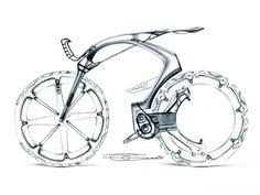 Peugeot B1K Concept Design Sketch by Olivier Gamiette.