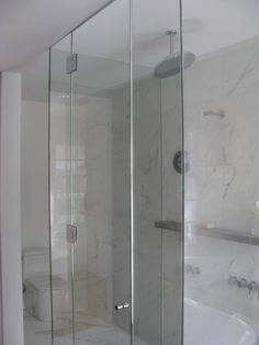 ShowerGuard is glass that's permanently sealed to keep your shower looking as beautiful as the day it was installed.