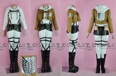 Annie Leonhardt from Shingeki no Kyojin (Attack on Titan) Cosplay Costume.  I do NOT own the image or costume (unfortunately) All rights go to the respective owners.
