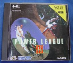 HE System PC Engine Hu Card Japanese :  Power League III ( HudsonSoft ) http://www.japanstuff.biz/ CLICK THE FOLLOWING LINK TO BUY IT ( IF STILL AVAILABLE ) http://www.delcampe.net/page/item/id,0378115962,language,E.html