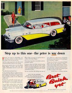 1956 Buick Special 6-Passenger 4-Door Estate Wagon Ad
