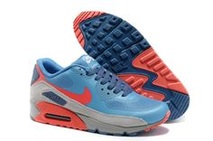 super popular 800a3 0c99c Now Buy New Arrival Nike Air Max 90 Hyperfuse PRM Mens 2014 Blue Orange  Save Up From Outlet Store at Footlocker.