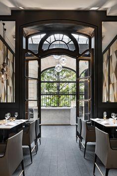 Italian Restaurant Café Artcurial Opens With Refreshed Interiors on Champs-Élysées