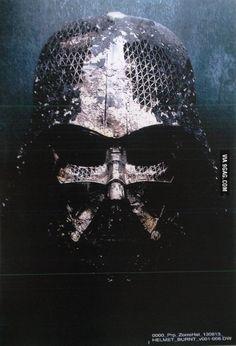 Darth Vader's helmet in Star Wars VII - 9GAG ✿ ☺