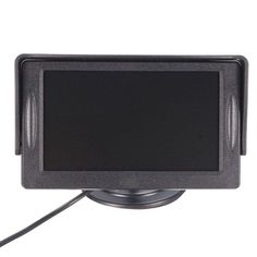4.3 inch Car TFT LCD Monitor Reversing Parking Rearview Camera Recording VCR Sunshade Kit. 4.3 Inch Car Tft Lcd Monitor Reversing Parking Rearview Camera Recording Vcr Sunshade Kit    features:  1. 170° Wide Angle Lens.  2. Easy To Install And Use.  3. Tv System Pal Or Ntsc.  4. 4.3' Digital Tft Lcd Monitor.  5. Reversing Guard Line Function.  6. Portable, Waterproof, Anti Shock.  7. Easy To Install, Rotatable Screen.  8. Anti High Temperature And Humidity.  9. Automotive Imaging For Safe…