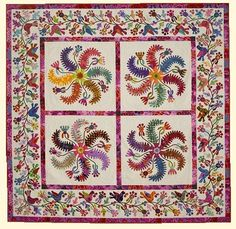 Princess Feathers Quilt