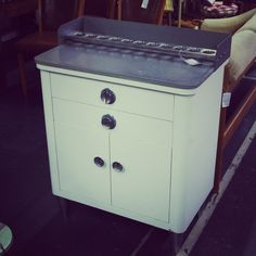 Mid-Century Medical Cabinet.  Perfect Condition.