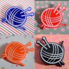 Yarn Bomb brooches!!! Now in our Etsy shop too and available in a range of colours!! Too cute!!  YARN BOMB Available in our Etsy Shop now http://ift.tt/1TGXvQa  #yarnbomb #brooches #jewellery #cute #lasercut #acrylic #colours #fun #whoopeetrain #makinwhoopee #shop #handmade #comingsoon #keepaneyeout #cairns #bigplans #spreadtheword #mothersday #shoplocal #supportlocal #handmade #buylocal #giftideas #new #designs #handmadeinqld #cairnsshopping #fnq #farnorthqueensland #queensland #australia…
