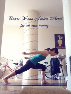 Power Yoga Fusion Moves for All Over Toning | Peaceful Dumpling