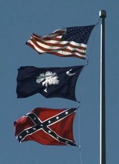 Why South Carolina's Confederate flag isn't at half-staff after church shooting - The Washington Post Confederate States Of America, Confederate Flag, American Flag Pictures, Civil War Flags, Half Mast, Southern Pride, South Carolina Gamecocks, The Washington Post, Red And White