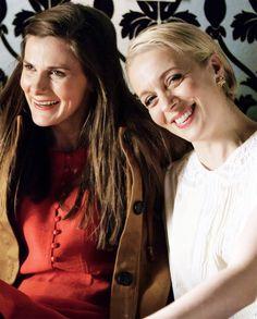 SHERLOCK (BBC) ~ Louise Brealey plays Molly Hooper, and Amanda Abbington plays Mary Morstan, who married Dr. John Watson.