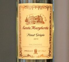 Santa Margherita Pinot Grigio 2010,  16.99 @ Mr. A's. For Adria and me one of these nights.