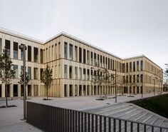 David Chipperfield Architects, HEC School of Management, Paris