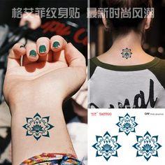 Small Lotus Flower Tattoo On Wrist