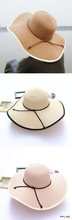 US$13.49+Free shipping. Women Hat, Summer Hat, Sun Hat, Straw Hat, Beach Hat, Outdoor, Travel.