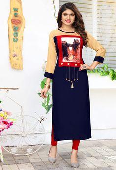 Embroidery On Kurtis, Kurti Embroidery Design, Indian Bridal Wear, Indian Wear, Velvet Dress Designs, Kurti Sleeves Design, Saree Draping Styles, Party Wear Kurtis, Lehenga Gown