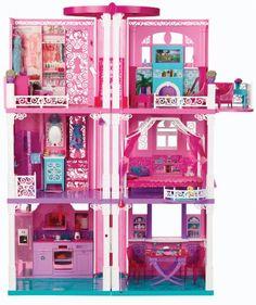 Barbie Dream House Mattel,http://www.amazon.com/dp/B00C6PSYK0/ref=cm_sw_r_pi_dp_uL0htb0959R65EY3  Want to do a DIY version.