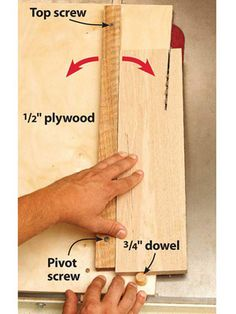 The minds of the WOOD magazine unearthed their favorite time- and work-saving tablesaw tips. Woodworking Table Saw, Woodworking Jigs, Carpentry, Woodworking Projects, Wood Magazine, Magazine Shop, Taper Jig, Wood Jig, Helfer