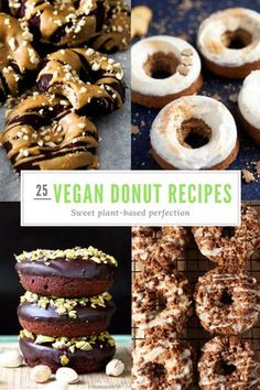 25 Of The Most Ridiculously Delicious Vegan Donut Recipes On The Interweb!