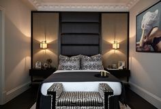 100 Extremely Beautiful Bedroom Interior Design Ideas and Decoration. 20457484 Home & Deco. Small Bedroom Designs, Master Bedroom Design, Dark Master Bedroom, Luxury Bedroom Design, Home Decor Instagram, Couple Room, Sofa And Chair Company, Suites, Beautiful Bedrooms