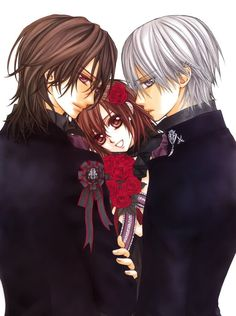 Vampire Knight I love Zero he isn't a jerk like Kaname