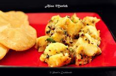 Aloo Morich - Potatoes in Black pepper