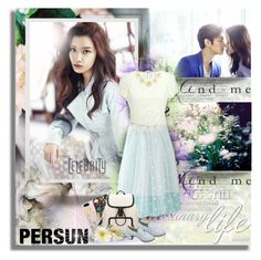 """""""TVXQ Chang Min and Moon Ga Young ( Persun )"""" by shinee-pearly ❤ liked on Polyvore featuring Wet Seal"""