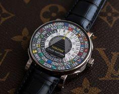 World City Designer Timepieces - Louis Vuitton's Escale Worldtime Watch Embodies Famous World Cities