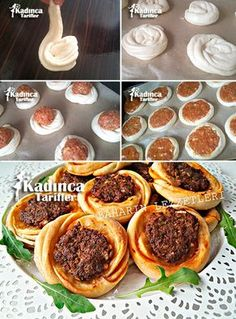 Kaytaz Pastry Recipe, How To – Womanly Recipes - Türkische Küche Turkish Recipes, Greek Recipes, Italian Recipes, Ethnic Recipes, Pastry Recipes, Cooking Recipes, Vegetable Recipes, Vegetable Drinks, Arabic Food