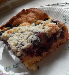 The English Kitchen: Blueberry Crunch Cake