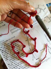 Punti e pensieri di Manu: tutorial collana corallo Fiber Art Jewelry, Jewelry Art, Beaded Jewelry, Jewellery, Arm Knitting, Knitting Socks, Sewing Projects, Projects To Try, Scarf Jewelry