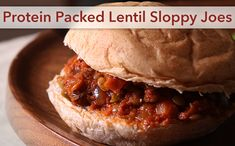 Protein Packed Lentil Sloppy Joes