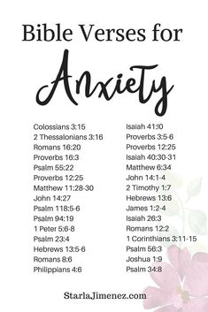 Bible Verses for Anxiety #anxiety #bibleversesforAnxiety #encouragingbibleverses