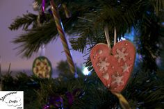 Handmade Clay ornaments Christmas