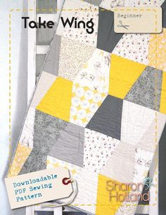 Looking for your next project? You're going to love Take Wing by designer Sharon Holland. - via @Craftsy