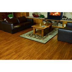 Shop Style Selections 8 In W X 4 23 Ft L Fireside Oak