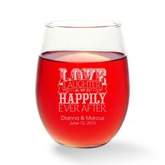 Wedding Glassware  T