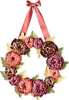 Mums Wreath Kit