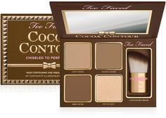 The right contour palette is essential to achieve a sculpted look. Find contouring makeup kits, including highlighter and brush, from Too Faced and create a chiseled look. Too Faced Makeup Goals, Makeup Tips, Beauty Makeup, Makeup Ideas, Paleta Too Faced, Too Faced Bronzer, Skin Makeup, Makeup Brushes, Makeup Organization